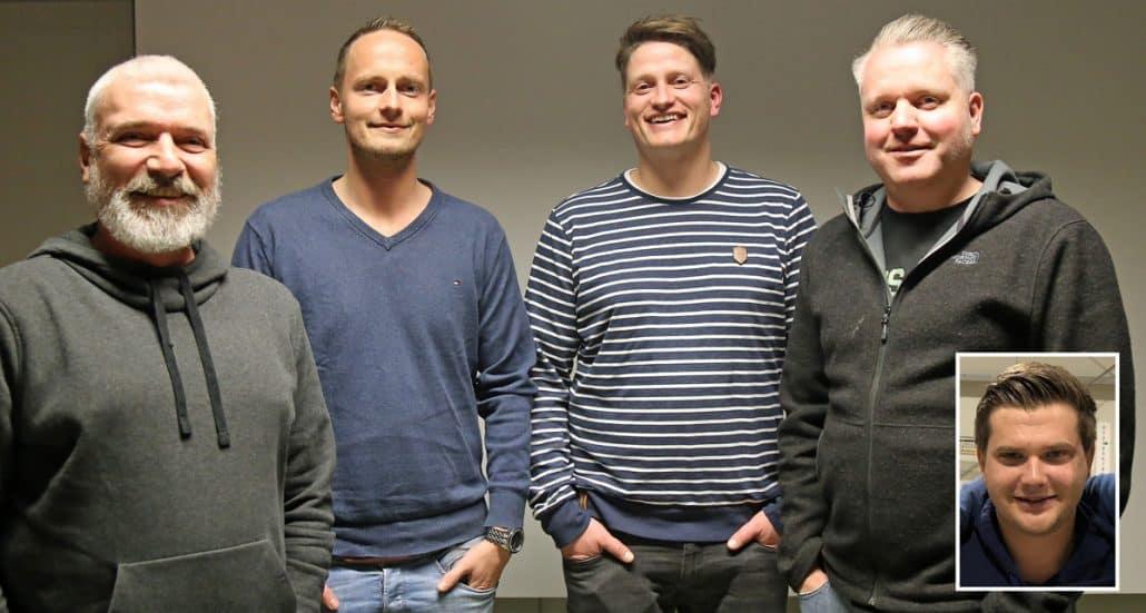 Die fünf neu gewählten Vorstandsmitglieder