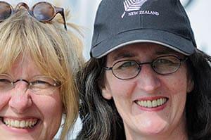 Karin und Diane Portrait