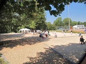 Spielflächen Boulodrome an der Pariser Straße