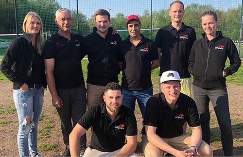 Team Sur place 1 beim 1. Bundesligaspieltag 2018
