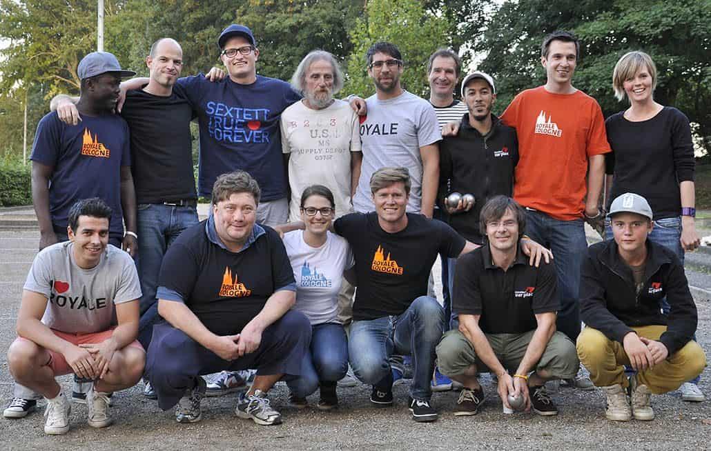 Teams beim BPV NRW Cup 2012
